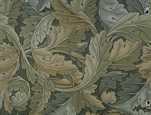 William Morris. Stranded leaves