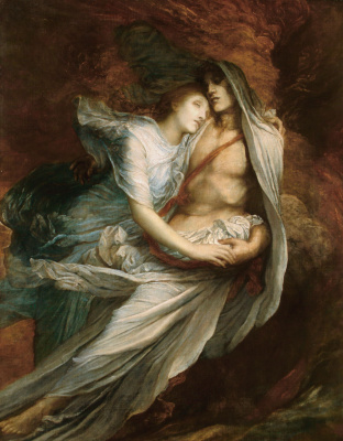 George Frederick Watts. Paolo and Francesca