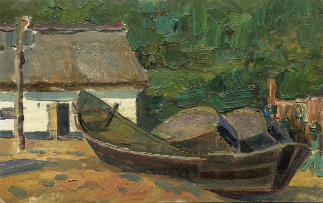 "Vasily Fadeevich Demin. Etude ""Boat"""
