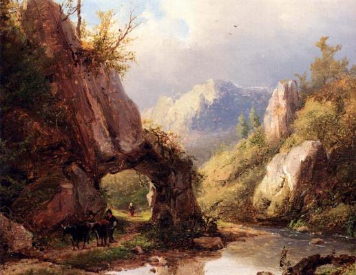 Иоганн Бернард Кломбекк. Горы