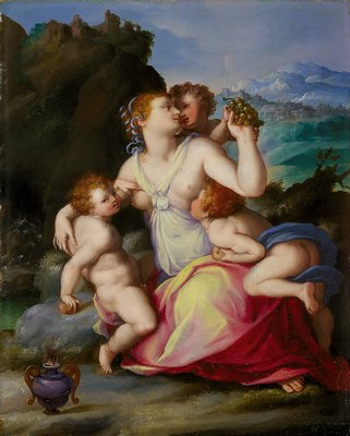 Alessandro Allori. The temptation