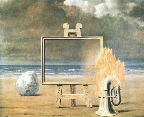 René Magritte. Enclosed beauty
