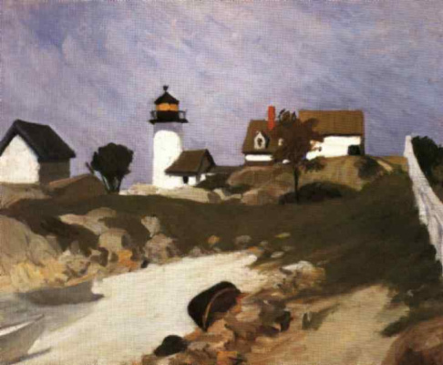Edward Hopper. Lighthouse