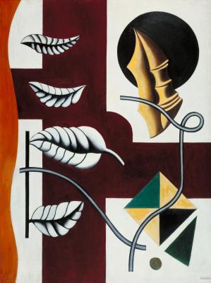 Фернан Леже. Листья и раковина