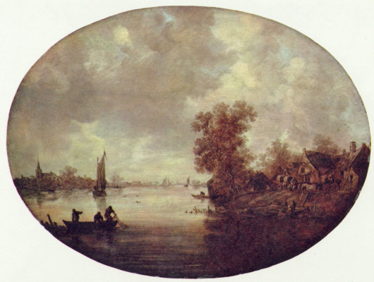 Jan van Goyen. Summer on the river