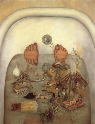 Frida Kahlo. What the water gave me