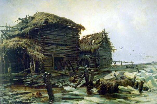 Julius Klever. Abandoned mill