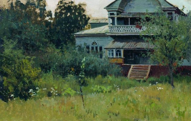 Алексей Степанович Степанов. Усадьба летом