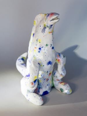 Евгений Морозов. Lizard harlequin