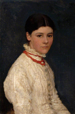 George Clausen. Agnes Mary Webster