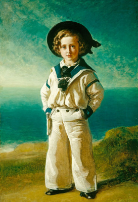 Franz Xaver Winterhalter. Albert Edward Prince of Wales, future king Edward VII