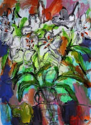 Ilya Pavlovich Spichenkov. The smell of lilies