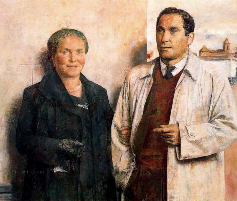 Антонио Лопес Гарсия. Женщина и мужчина