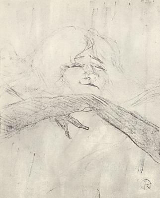"Henri de Toulouse-Lautrec. English series ""Yvette Guilbert"""