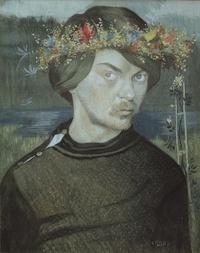 Ивар Аросениус. Автопортрет