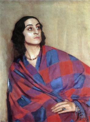 Igor Grabar. Portrait Of E. G. Nikulina-Volkonskaya
