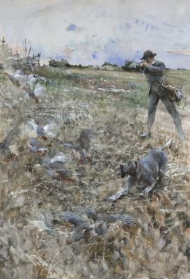 Бруно Лильефорс. Охота на куропаток