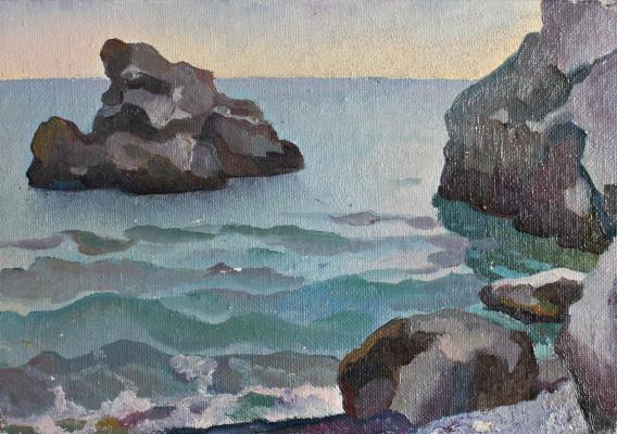Victor Ashotovich Abrahamyan. Gurzuf. Cliffs