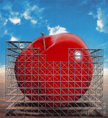 Джен Франкоа Подевин. Красное яблоко