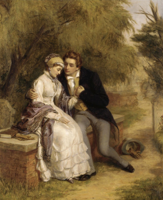 Beehives Powell Fright Great Britain 1819-1909. Bench lovers. Private collection
