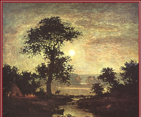 Ralph Albert Blaklock. Sunset