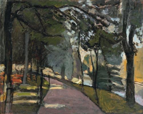 Henri Matisse. The Bois de Boulogne