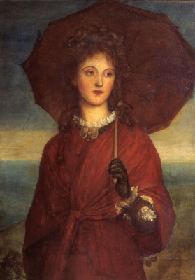 George Frederick Watts. Evelyn Tennant, later Mrs. Myers