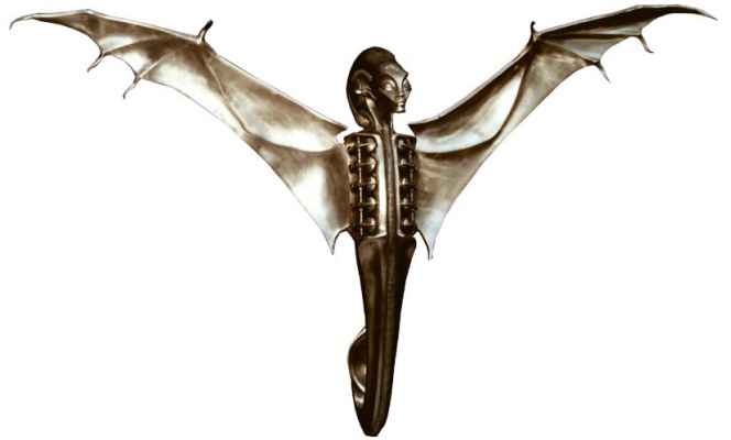 Hans Rudolph Giger. Guardian angel