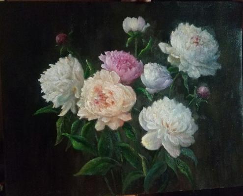 Evgeny Yurievich Miroshnik. Spring bouquet