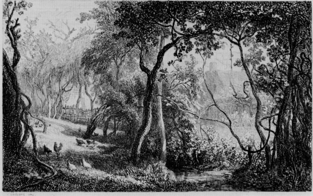 Charles-Francois Daubigny. Orchard in Valmondois