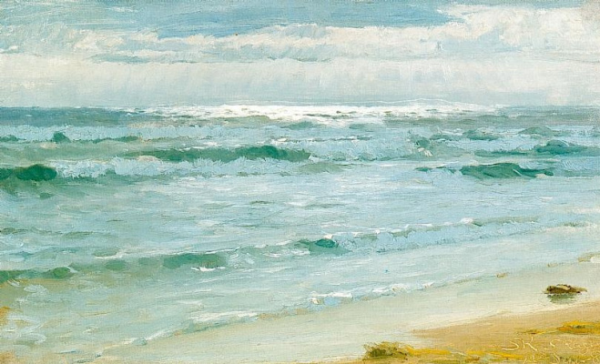 Педер Северин Крёйер. Sea of Skagen