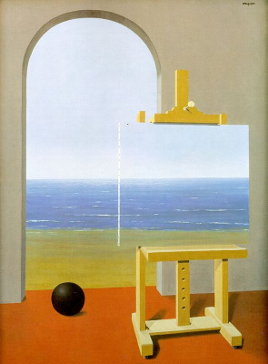 René Magritte. The conditions of human existence