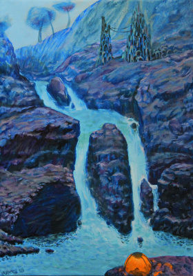 Leo Mikhailovich Karnaukhov. At dusk oil on canvas 70x50 2018 for sale (2)