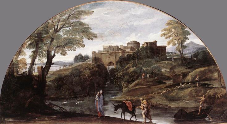 Лодовико Карраччи. Египет