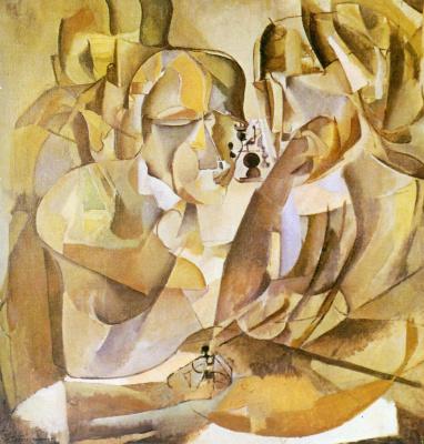 Marcel Duchamp. Chess players