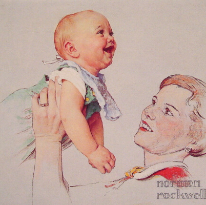 Norman Rockwell. Delight