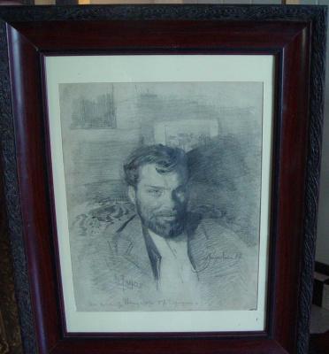Sergey Arsenievich Vinogradov. Portrait