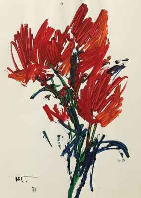 Yuri Iosifovich Galetsky. Flowers