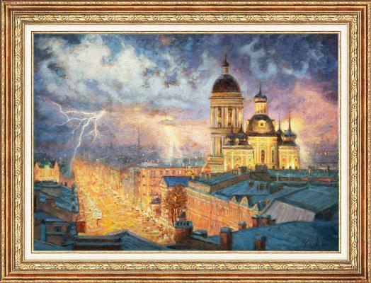 Igor Razzhivin. Heavenly dancing fire