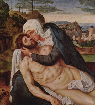Виллем Кей. Оплакивание Христа