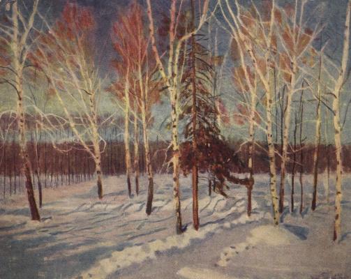 Igor Grabar. Winter Sunny day