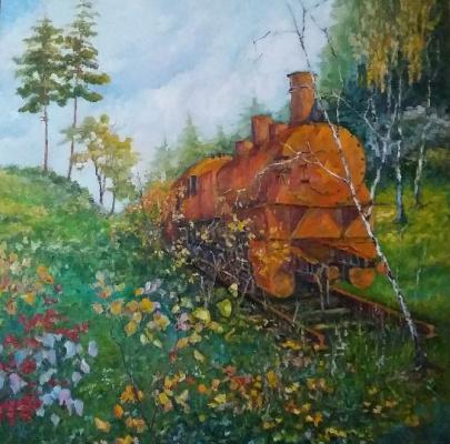 Valentin Nikolaevich Sudnitsyn. Forgotten train