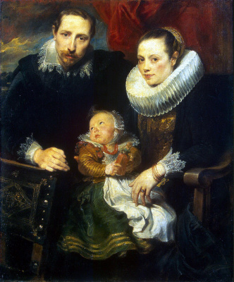 Anthony van Dyck. Family portrait