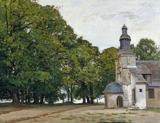Клод Моне. Церковь Нотр-Дам-де-Грас в Онфлёре