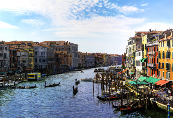 Raffaella Spence. Venice. The Grand Canal