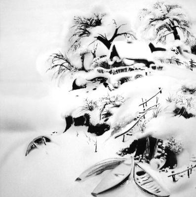 Rashit Talgatovich Safiullin. White, white day