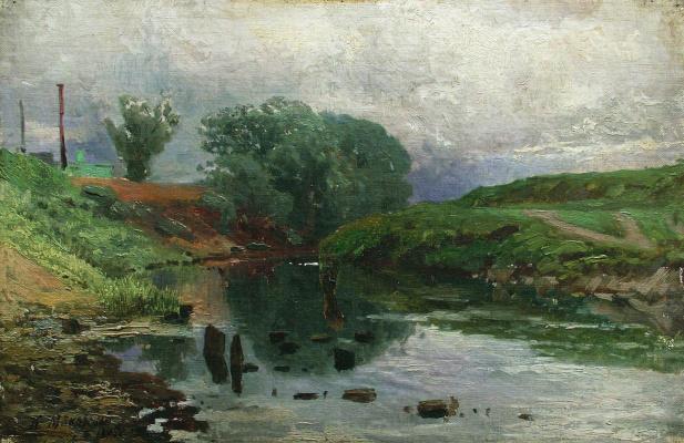 Konstantin Makovsky. Landscape