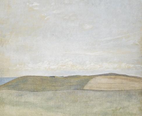 Vilhelm Hammershøi. Landscape. Rösnes Peninsula