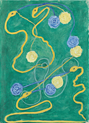 Hilma af Klint. The Primordial Chaos, No. 13