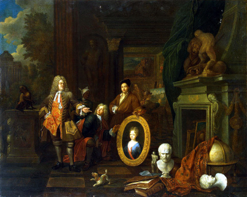 Балтазар ван ден Босхе. Мастерская живописца